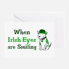Irish Eyes Smiling Greeting Card