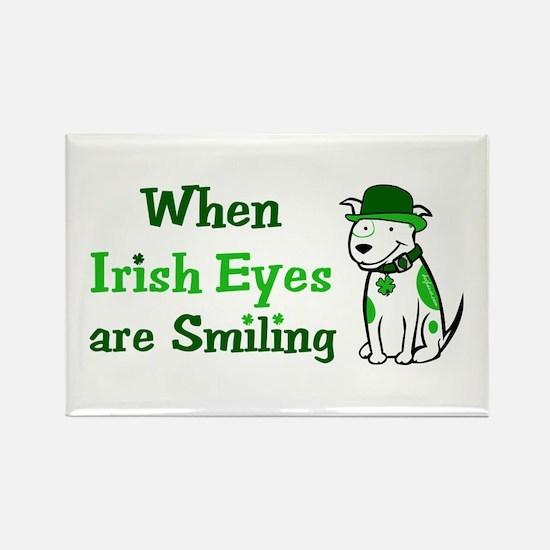Irish Eyes Smiling Rectangle Magnet