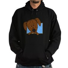 Cartoon Plott Hound Hoodie