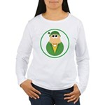 Funny Irish Leprechaun Women's Long Sleeve T-Shirt