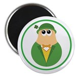 Funny Irish Leprechaun Magnet
