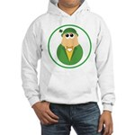 Funny Irish Leprechaun Hooded Sweatshirt
