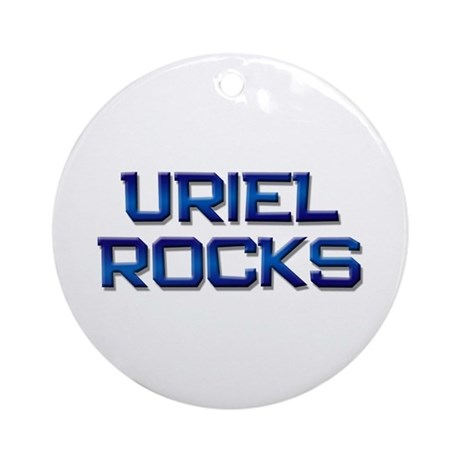 uriel rocks Ornament (Round)