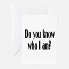 Do You Know Who I Am? Greeting Cards (Pk of 10