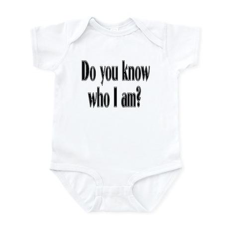 Do You Know Who I Am? Infant Creeper