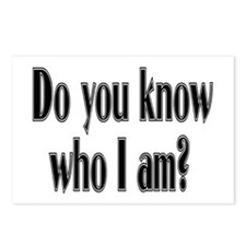 Do You Know Who I Am? Postcards (Package of 8)