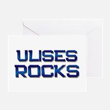 ulises rocks Greeting Card