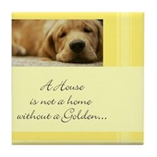 A House Is Not a Home Tile Coaster