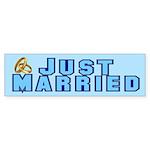 Just Married Bumper Sticker (10 pk)