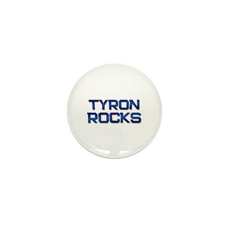 tyron rocks Mini Button