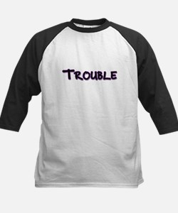 Trouble ( 2 of 2) Kids Baseball Jersey