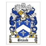 Bugge Coat of Arms Small Poster