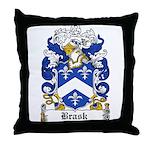 Bugge Coat of Arms Throw Pillow