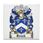 Bugge Coat of Arms Tile Coaster
