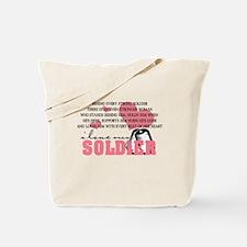Funny Army mom infantry Tote Bag