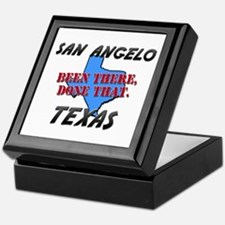 san angelo texas - been there, done that Keepsake