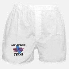 san angelo texas - been there, done that Boxer Sho
