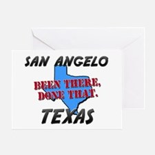 san angelo texas - been there, done that Greeting