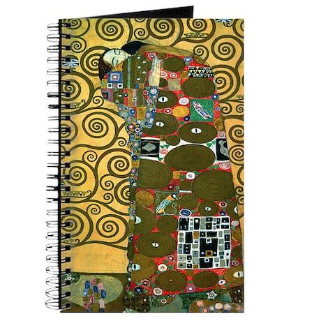 Fulfillment by Gustav Klimt Journal