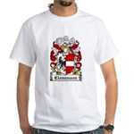 Clemensen Coat of Arms White T-Shirt