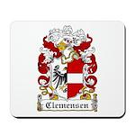 Clemensen Coat of Arms Mousepad