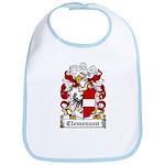 Clemensen Coat of Arms Bib