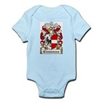 Clemensen Coat of Arms Infant Creeper