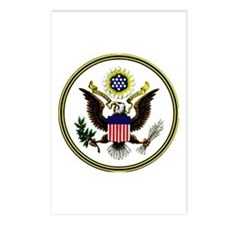 The Great Seal Postcards (Package of 8)