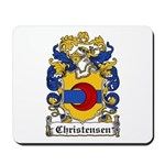 Christensen Coat of Arms Mousepad