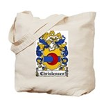 Christensen Coat of Arms Tote Bag