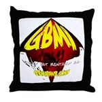 GBMI Band Throw Pillow #3