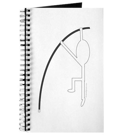White Pole Vaulter Journal