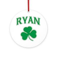 Ryan Irish Ornament (Round)