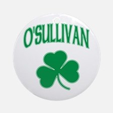 O'Sullivan Irish Ornament (Round)