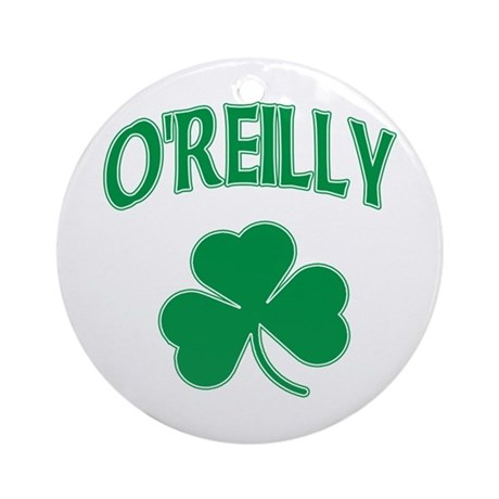 Irish O'Reilly Ornament (Round)