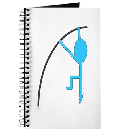 Sky Blue Pole Vaulter Journal
