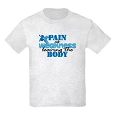 Pain is weakness cross T-Shirt