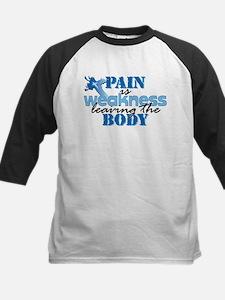 Pain is weakness cross Kids Baseball Jersey