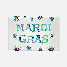Mardi Gras Rectangle Magnet (10 pack)