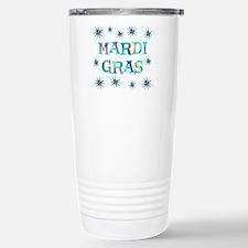 Mardi Gras Travel Mug