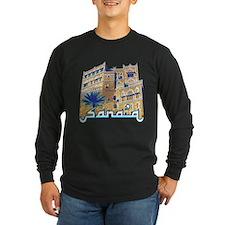 Long Sleeve Dark Sana'a T-Shirt