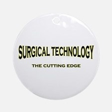 Surgical Technology - yellow/ Ornament (Round)
