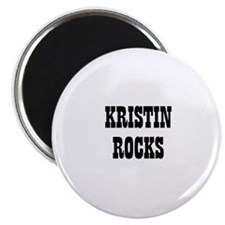 KRISTIN ROCKS Magnet