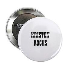 KRISTEN ROCKS Button