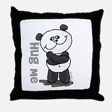 Hug Me Panda Throw Pillow