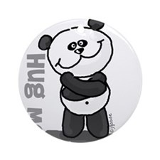Hug Me Panda Ornament (Round)