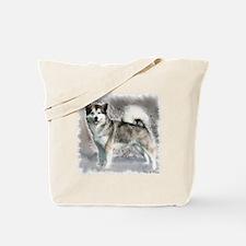 Alaskan Malamute Art Tote Bag