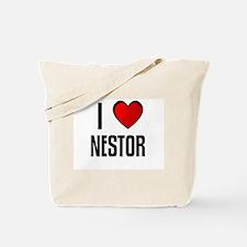 I LOVE NESTOR Tote Bag