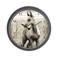 Horse Photograph Wall Clock