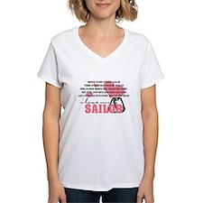 Cute Navy girlfriend Shirt